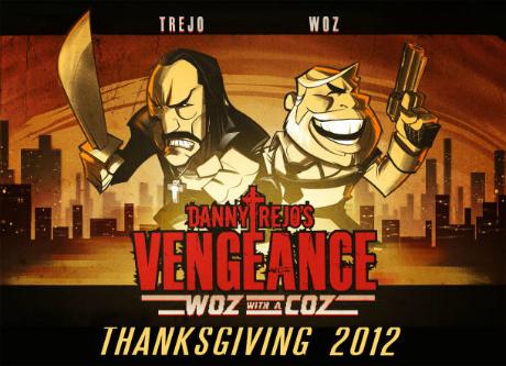 "Danny Trejo's Vengeance ""Woz with a Coz"" (Cnet)"